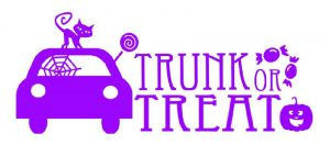 Trunk or Treat 2017 at Lybrook Elementary School in Eau Claire, MI